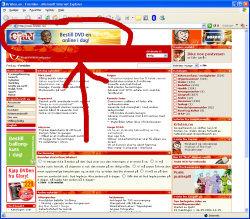 Annonser på Kommunions nettsteder